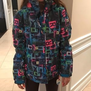 Girls Roxy snow jacket size 16